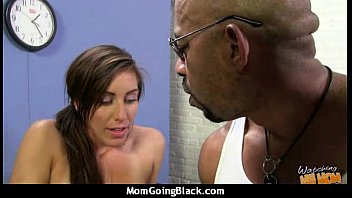 white anal monster cock Son fuck mom during breakfast video