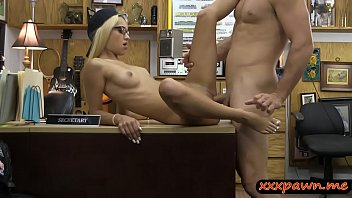 dude at pawn blonde nailed babe the tight pawnshop by Indian desi sex porn video5