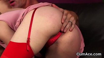 30 loads cum women swallowing Crossdressing husband gangbanged wife watches
