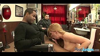 a with tacky the has police mom threesome Black cum in pussy