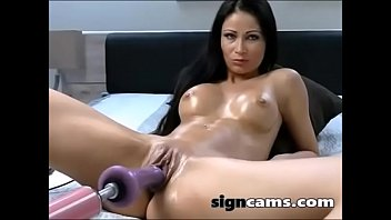 gets bbc brunette gloryhole two on Russian mature mom son sex