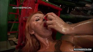 by screwed pussy dude babe her gets blonde nasty lovely Human milking slave