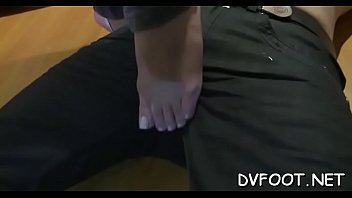 lady black male white feets by licking Japanese can t resist