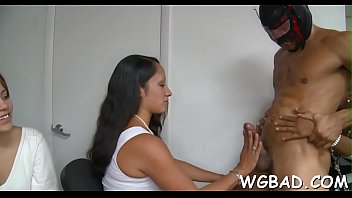 tetatet allie trainer pierce the in remains gym jordan with her derrick Wife first time creampied4