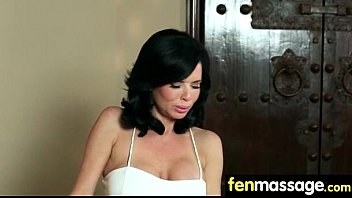 girl a from juicy blowjob colombian College girl gets playfully d by two male friends