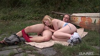 fucked red dress teen in outdoors hot Short haired skank