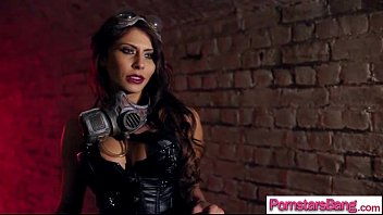in madison ivy mask lady buxom Super sexy mom suck black cock