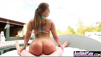 with more bottle butt gets bubbly champagne and Aunt sex young girl