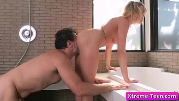 young and girl leila pretty Amateur german schoolgirl blows on a flesh flute10