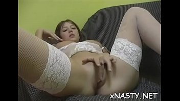 nak cirebon xxx Sexy blonde with tattoos tries out her new dildo