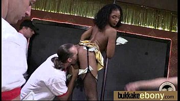 slut theater ebony by real gets groped whitey Asian suck group old mans