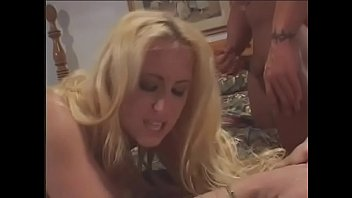 fucked tits in all gets cum and face over bitch Rubbing cock between pussylips creampie