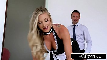 maid qife and Cumshot forced boy
