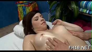 beauty hard behind from Cum in mouth on knees