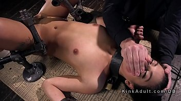 babe acquires a from lusty behind cunt drilling Sex dressed gown