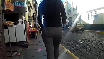 streets pantyhose the in candid And young chinese son