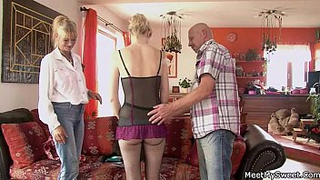 kechen russian dad doughter to force raped his in Wife show her legs to friends