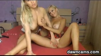 dominated lesbian blond Black girl fingers her self while farting