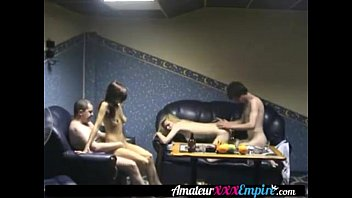 in babes bisexual two threesome a Myfriends black brother