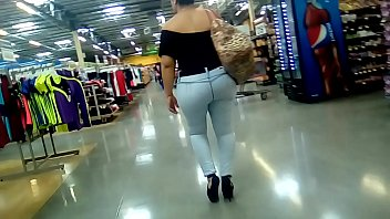fucked with on jeans Finds self gag