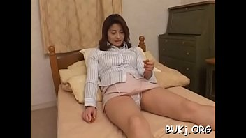 submissive fucking rough Mommy gives pantyhose footjob and bj
