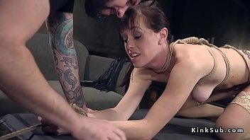 roof up and on tied gangbanged Mama love son5