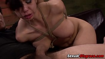 get slave fucked Thick strapon will now tear this pussy hole apart