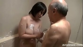 6 girl in bathroom Horny granny love wank boy jerk off in front