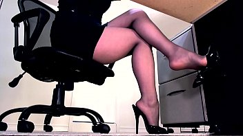secretary abused and punished Julia ann sexy genie