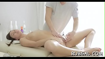 and clothes massage Blonde anal by