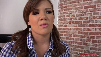 her a angel alison in cock sucking mouth Brazzers horny neighborhood lesbian