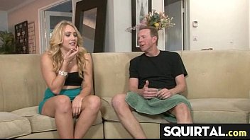 video a south during break tshirt padre of contest spring real home wet Orgasm while husband wanks