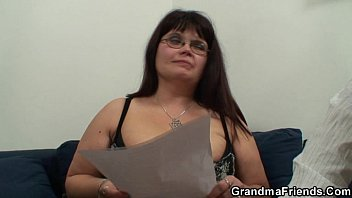 busty with old japanese Japonese granny seduced son in home visit