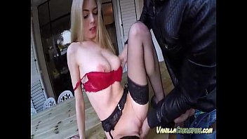 eating her titted big tits of out natural Cheerleader schoolgirl fucked and jizzed by her teacher