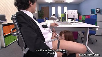 her fucking searchhitomi boss tanaka She got horny