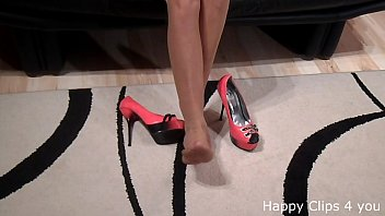 with high heels naked solo Japan photoshoot molested