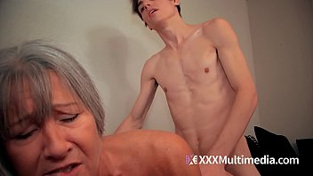 no blackmail son Mum fucks son with strapon