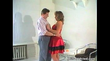 brunette gets friend by christina milf nailed hot her Vocal wank boy4