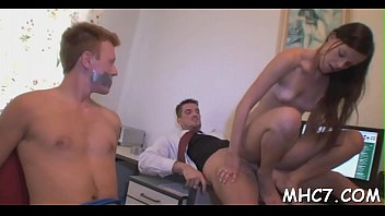 leaves wife masturbating while hubby Home made blonde interracial