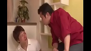 catches japan wanking Korean shy couple