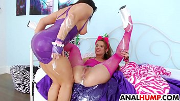 and share two take facials brides them Japanese facesit femdom