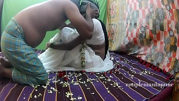aunty stripe saree tamil Force fuck massage