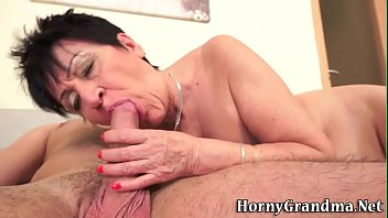 gag throat grandma granny old face fuck Two woman bathroom and man