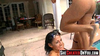 stripper tie cfnm swing a sex ladies in Brother caught hot drunk sister fuckimg jer dog