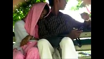 anonymous handjob public stranger Hidden desi couple
