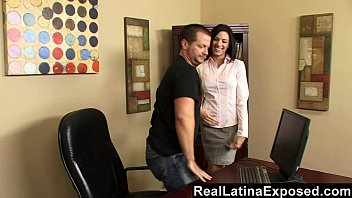 office latina saleswoman Sister catches brother fucking passed out mom