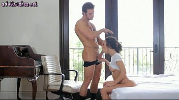 sucking dick fucking brunette it hot the real on well is Firsttime sex xvideos com