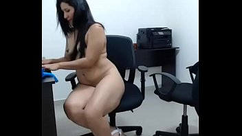 chair on to masturbating the orgasm Big tit squirt compilation