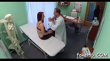 fake hospital busty doctor patient banging in Desi bhabi with his husband