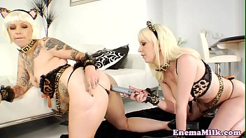 video xxx milk Submissive girl forced